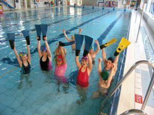 Ośrodek Sportowo Rekreacyjny w Zabierzowie Nauka pływania