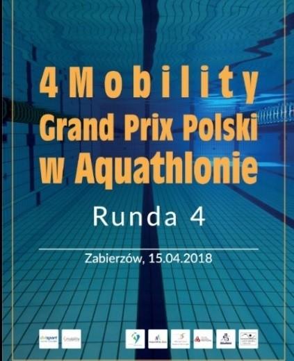 Ośrodek Sportowo Rekreacyjny w Zabierzowie 4Mobility Grand Prix Polski w Aquathlonie- Zabierzów 15.04.2018r