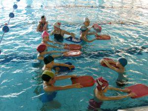 Ośrodek Sportowo Rekreacyjny w Zabierzowie Zapisy na naukę i doskonalenie pływania w czasie Wakacji 2019