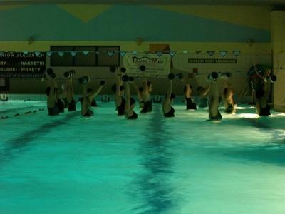 Ośrodek Sportowo Rekreacyjny w Zabierzowie WIOSENNY MARATON  AQUA AEROBIC 25.04.2014 o godz.18.30-21.30