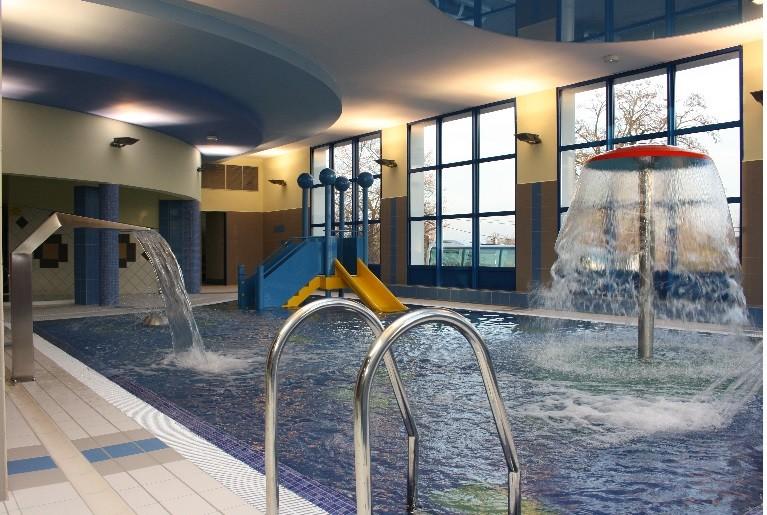 Ośrodek Sportowo Rekreacyjny w Zabierzowie Prezentacja basenu dla najmłodszych