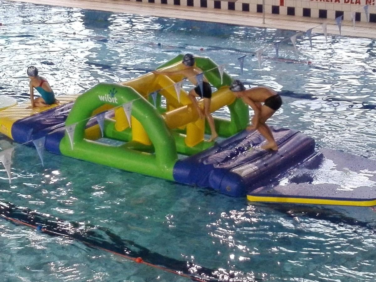 Ośrodek Sportowo Rekreacyjny w Zabierzowie Dzień Dziecka na pływalni