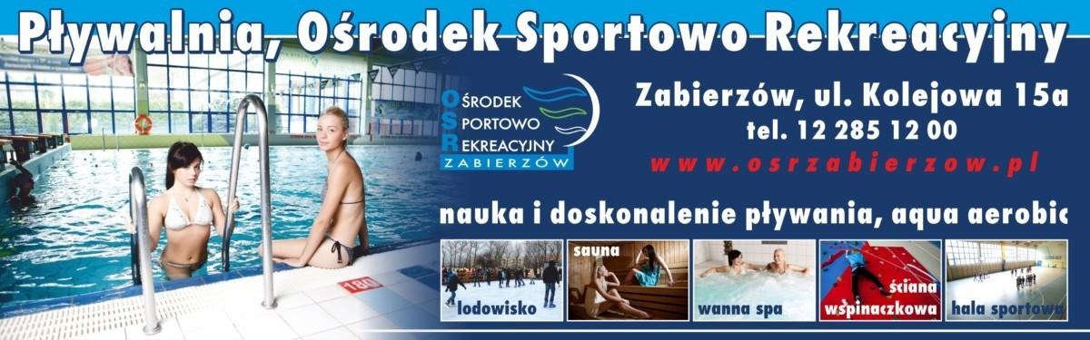 Ośrodek Sportowo Rekreacyjny w Zabierzowie Zdrowiej i taniej!