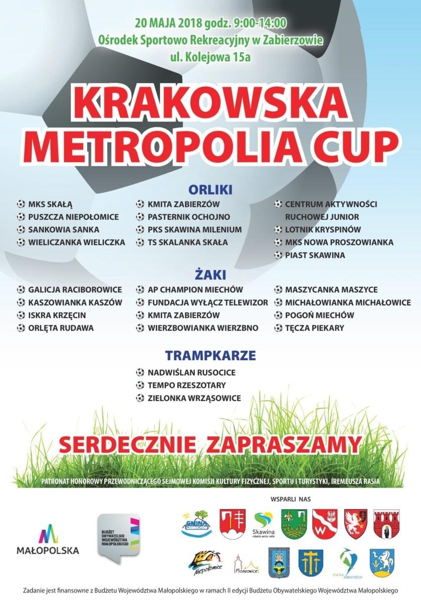 Ośrodek Sportowo Rekreacyjny w Zabierzowie Krakowska Metropolia Cup